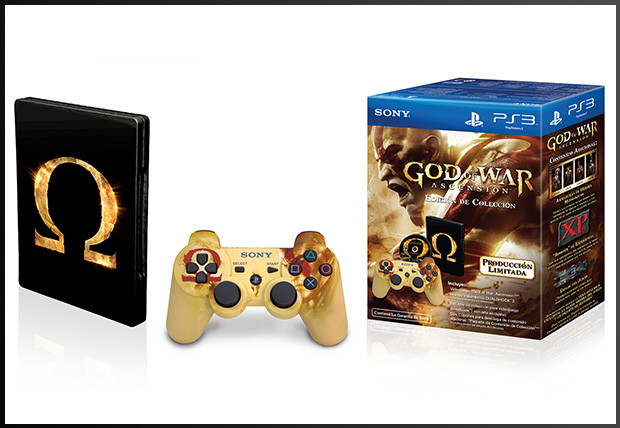 god of war ascension box