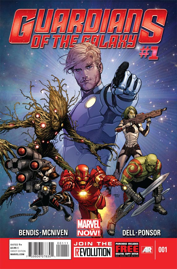 guardians of the galaxy no. 1