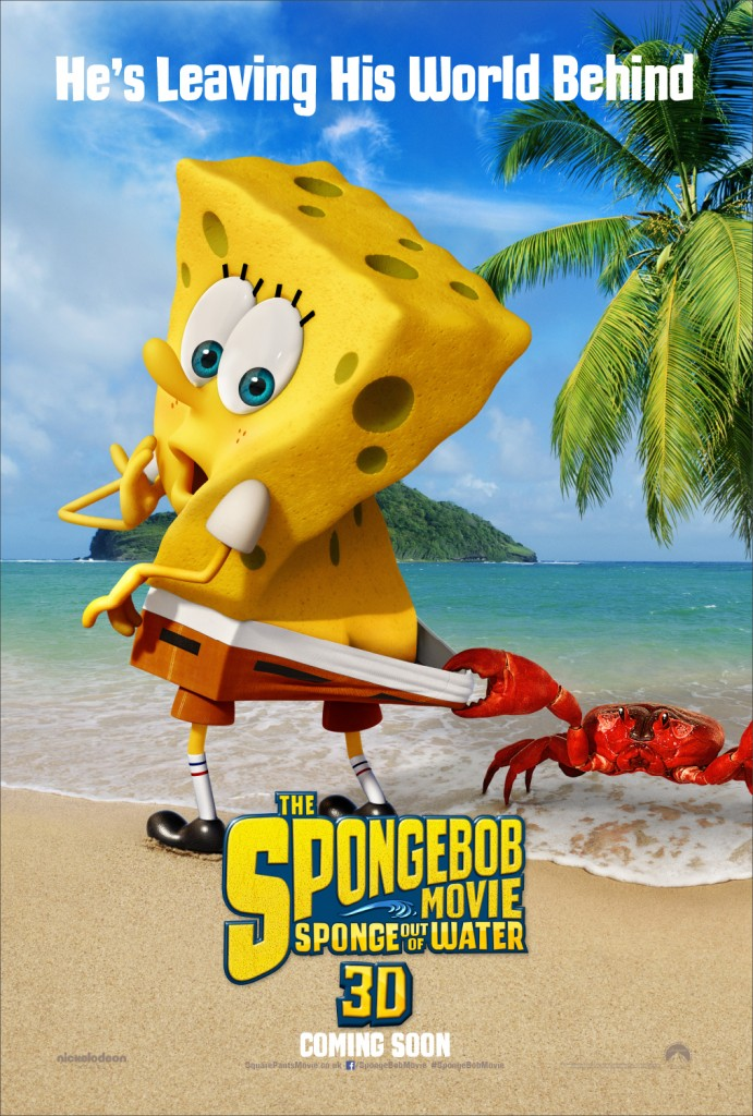 poster spongebob out of water 2