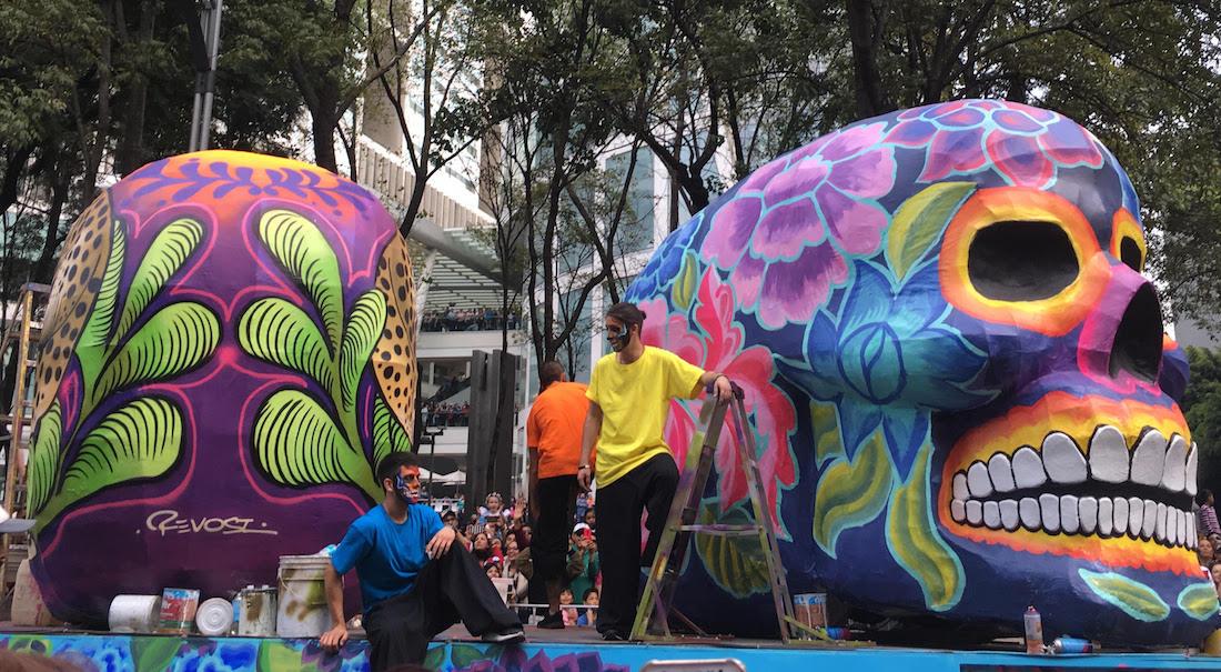 El Desfile De Día De Muertos En La CDMX