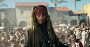 Piratas del Caribe Jack Sparrow Johnny Depp