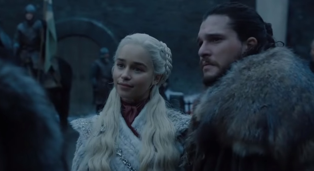 Game of Thrones Daenerys Targaryen Jon Snow