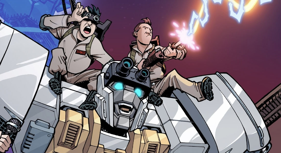 transformers and ghostbusters