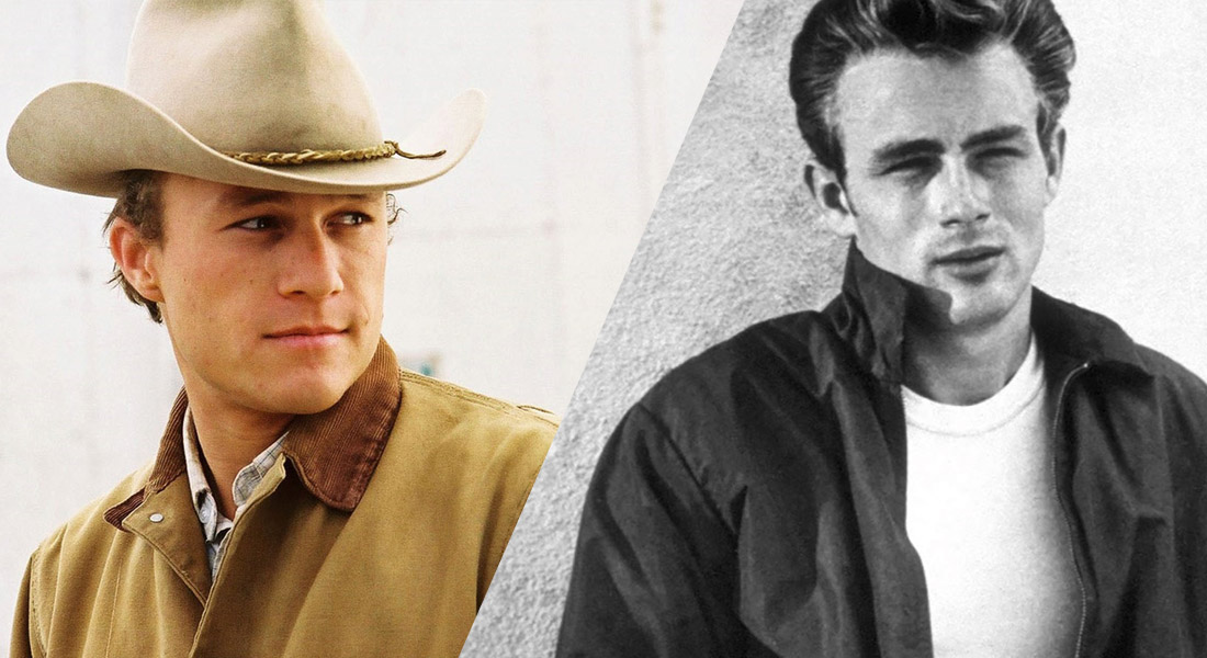 Actores que murieron jovenes James Dean Heath Ledger
