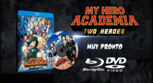 My Hero Academia: Two Heroes blue ray dvd