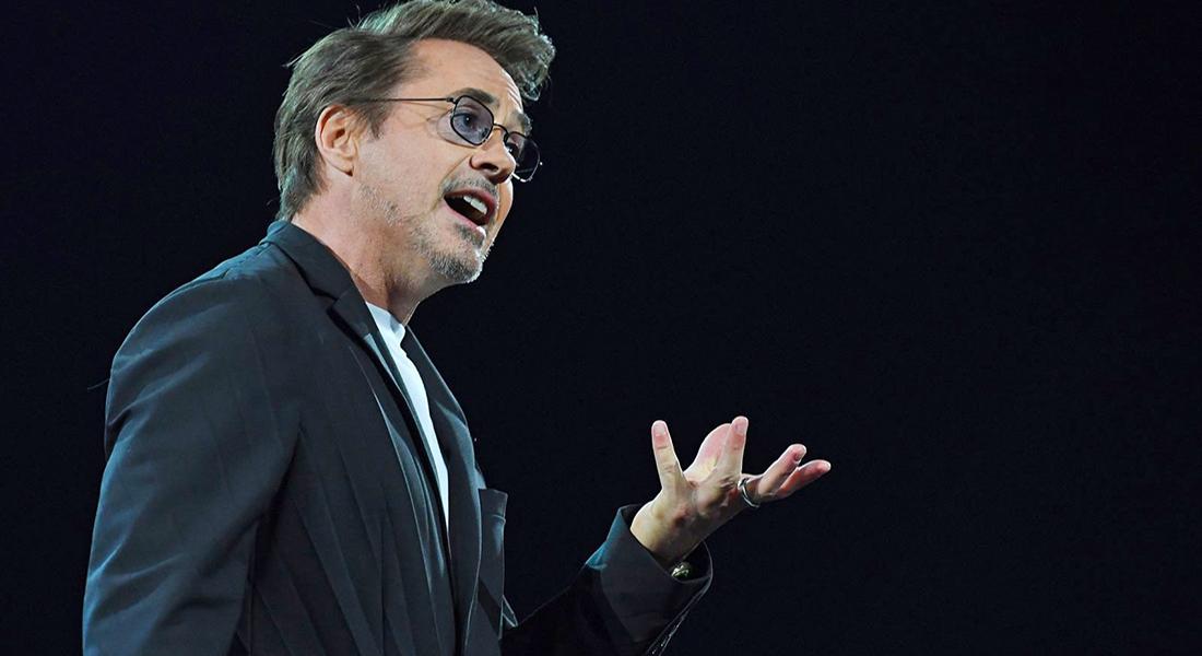 Al estilo Tony Stark, Robert Downey Jr. quiere salvar el mundo